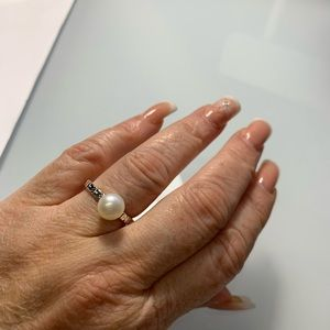 Tous pearl ring #7